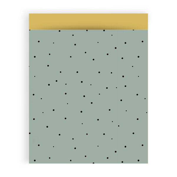 Dots groengeel