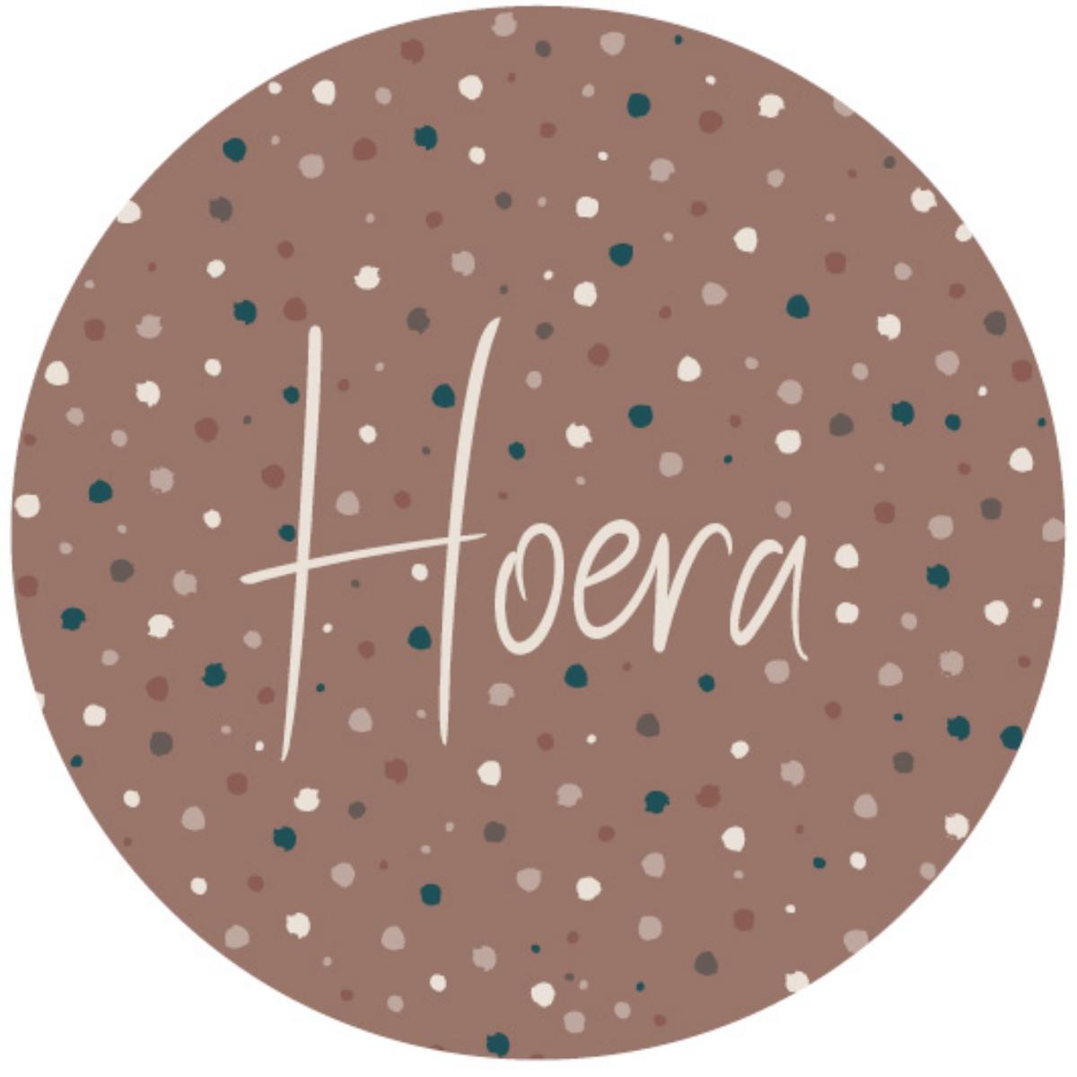 Sticker Hoera