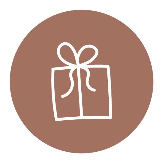 stickers cadeautje