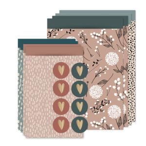 inpaksetje rozeblauw