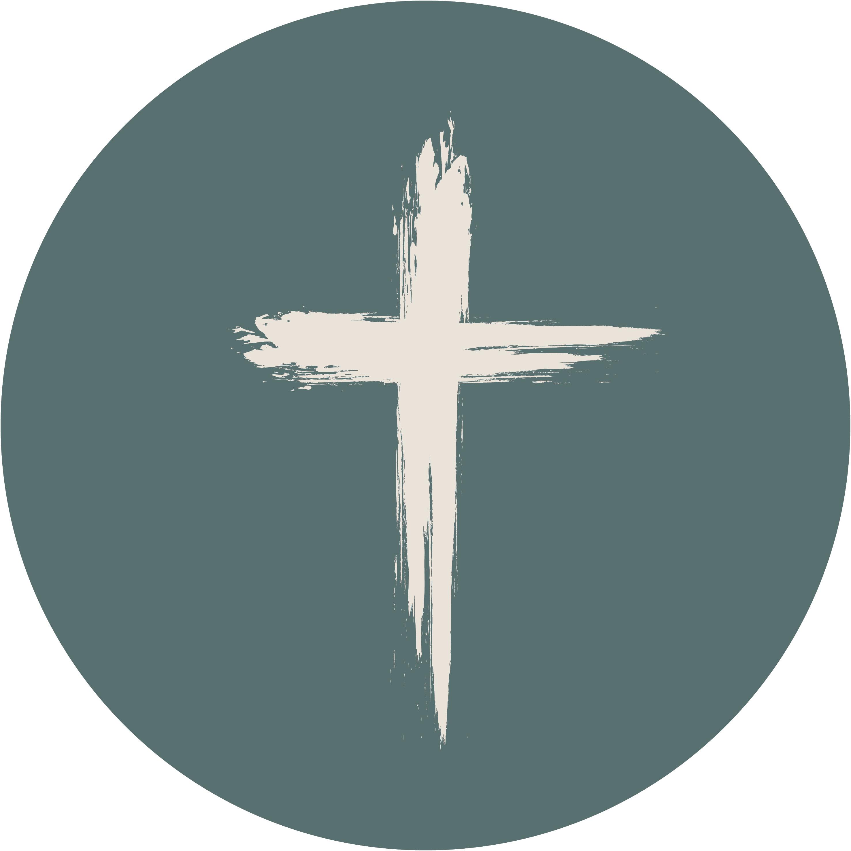 muurcirkel - kruis