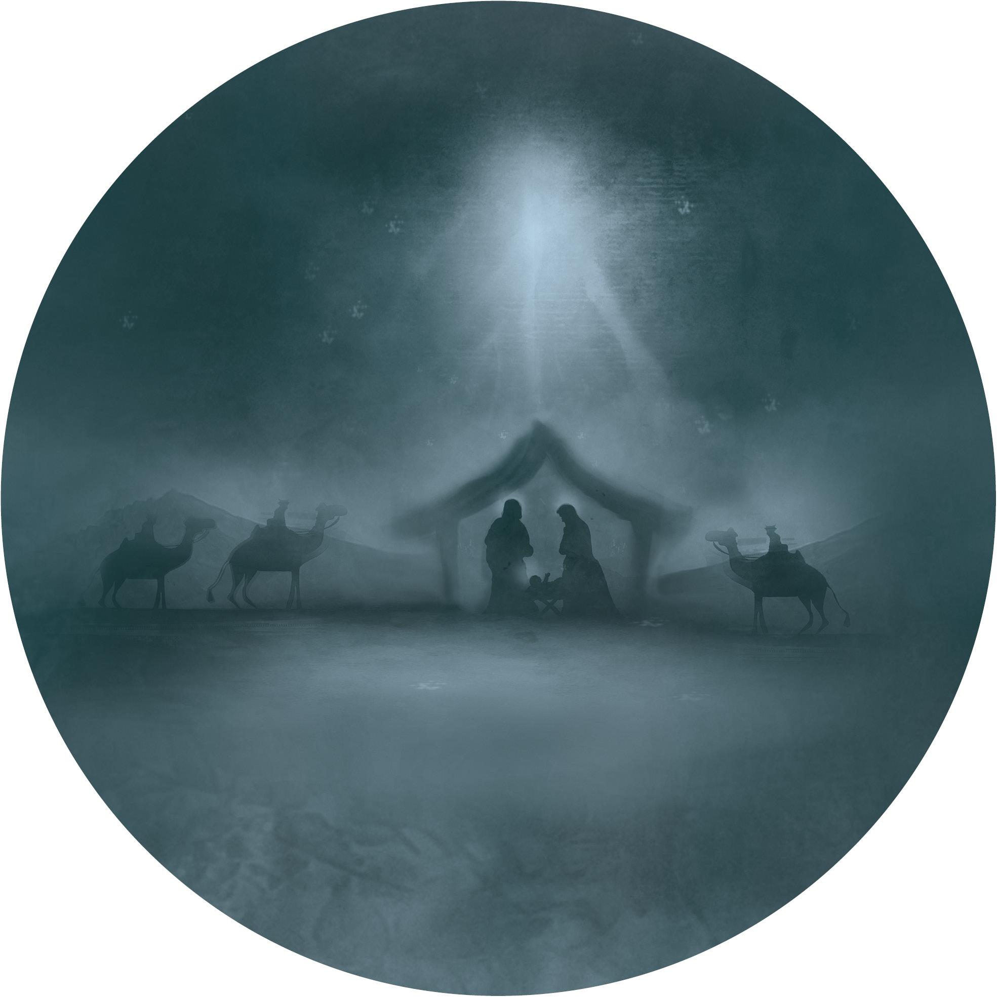 muurcirkel kerst