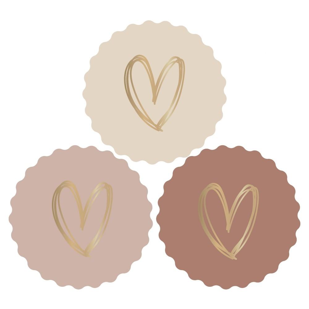 Sticker set hart
